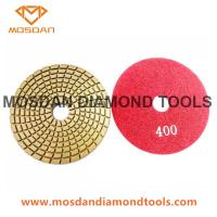 Best Spiral Wet flexible Wet Diamond Polishing Pads for Marble and Granite wholesale