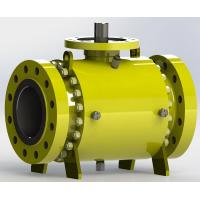 Best Trunnion Bolted Pipeline Ball Valve, Fire safe Design wholesale