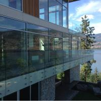 Best Easy Installation 304 Stainless Steel Frameless Glass Standoff Railing / Wall Mounted Glass Standoff wholesale