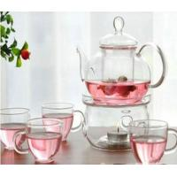 Best Transparent Color Glass Water Kettle Glass Tea Kettle With Infuser Lw-K24 wholesale
