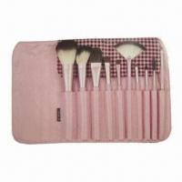 Best Makeup Brush Set with Wooden Handle wholesale