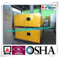Best Steel Flammable Safety Cabinets With Double Doors For Hazardous Material Storage wholesale