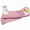 Buy cheap Women's Knee-high Rib Fashion Socks, Legging, Weighs 60g/pair from wholesalers