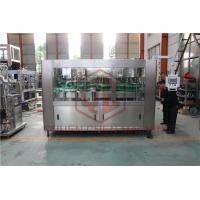 Fully Automatic High Speed Water Bottle Filling And Bottling Machine PLC Control