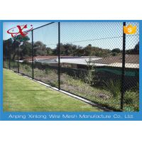 Best 1.8 - 4.5mm Diameter Chain Link Fence With 35 * 35 Aperture For Playground wholesale