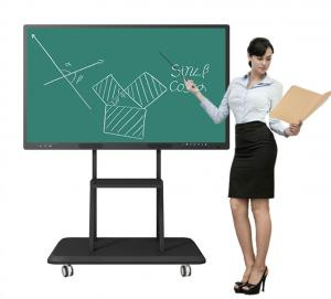 Best 1080P Interactive Digital Whiteboard  For Teaching 450cd/M2 3840×2160 UHD wholesale