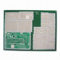 Best High Impedance Board with 4/4mil Minimum Width/Spacing and Immersion Silver Finish wholesale