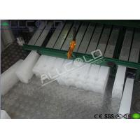Quality Broccoli Preservation Ice Block Machine R404A Refrigerants 15 Tons / Day wholesale