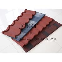 Best Wind resistance galvanized Stone Coated Roofing Tiles for Middel East wholesale