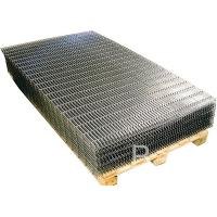 China Black Iron Welded Wire Mesh Panels Square Grid For Building / Agricultural / Industrial on sale