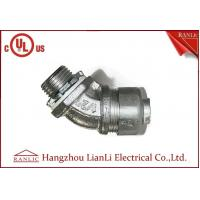 "Best 3/4"" Flexible Conduit Fittings / Insulated Flexible Duct Connector , UL Certification wholesale"