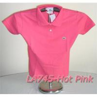 Best Lacoste Solid Women Polo wholesale