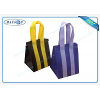 Best Custom Eco Promotional Long Handle PP Non Woven Garment Bag With Zipper wholesale