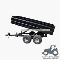 Best 2TR4W - Off road Hydraulic dump trailer with CE 2Ton wholesale