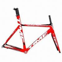 Best Ulteam 2012 Module Road Bike Frameset with Full Carbon Lugs and Asymmetrical Chain Stays wholesale