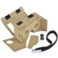 Best 3D VR Virtual Reality Headset 3D Movie Game Glasses Adjust Cardboard VR BOX 2 . 0 wholesale
