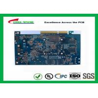 Best Computer Multilayer Circuit Board with OSP + Gold Finger Blue Solder Mask wholesale