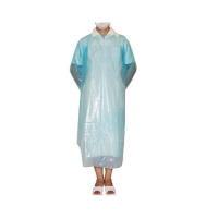 Best Wholesale Disposable CPE Gown Cheap Long Sleeve Isolation Gown for Body Protection wholesale
