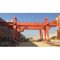 Buy cheap Brand new double girder workshop gantry crane with great quality for USA,UK,Japan and so on from wholesalers