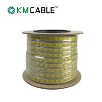 Best Well Depth Water Level Measuring Tape , 9.8mm PE Coating Ruler Water Indicator Tape wholesale