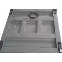 Single Deck Industrial Floor Weighing Scales 1.2 X 1.5m 3t Powder Coated With Ramps
