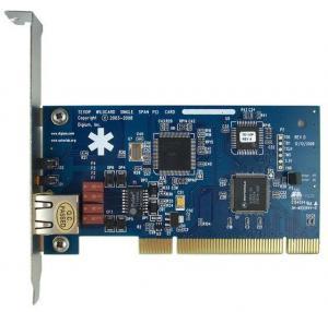 Best TE110P E1/T1 Card ISDN PRI PCI Card for Call Center wholesale