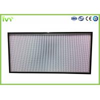 Best H10 - H14 Efficiency Hepa Filter Replacement , Pleated Panel Air Filters Easy To Install wholesale