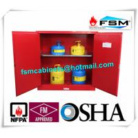 Best 30 Gallon Chemical Storage Lockers , Safety Containers For Flammable Liquids wholesale