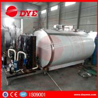 Best Horizontal 200L Stainless Milk Cooling Tank Trailer Safety Prevents Bacteria From DYE wholesale