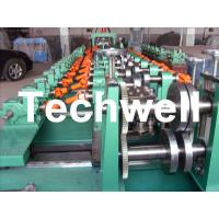 Best Auto Size Changeable C Z Shaped Purlin Roll Forming Machine With Gimbal Gearbox Drive wholesale