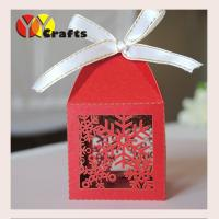 Best Wedding cake boxes bags ivory snowflakes for Christmas wedding gift boxes wholesale