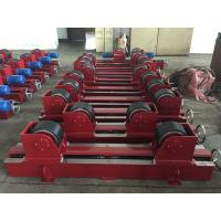 Best Manual Screw Pipe Welding Rollers With 2x0.55Kw Motor Power , CE Certification wholesale