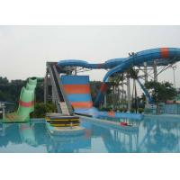 Best Giant Water Park Slide , Youth / Adults Fiberglass Super Bowl Water Slide wholesale