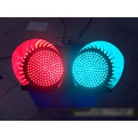 Best 2 Color Solar Powered Traffic Signs Red Green Flashing Signal Light wholesale