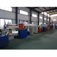 Best Hollow Cross Section Plate Plastic Sheet Making Machine / Plastic Sheet Extruders wholesale