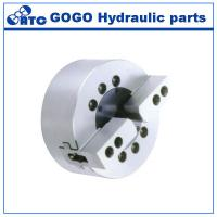 Quality Solid Dynamic Hydraulic Lathe Chuck / 2 Jaw Chuck For Surface Grinding Machine wholesale