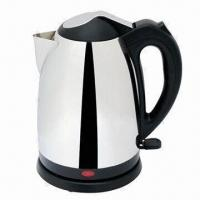 China 1.5L Stainless Steel Electric Kettle with Indicator light/Concealed Heating Element/Auto Switch-off on sale