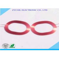 Cheap Round Rfid Antenna Coil / Electronic Self-bonding Copper Wire Coil for sale