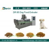 Best DR65 Automatic Stainless Steel  Dog Food Extruing Machine / Dry Pet Food Processing Line wholesale