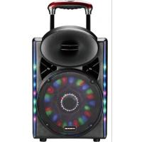 China Led Lights Outdoor Portable Speaker System With Bluetooth And Microphone on sale