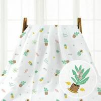 China Multifunctional Newborn Baby Swaddle , Cotton Gauze Blanket All Natural on sale