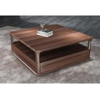 Best 2017 New Walnut Wood Case Good Furniture Design Living room Coffee table& Tea table with Storage side Drawers wholesale