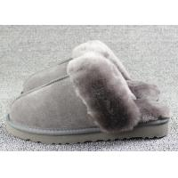 Best Luxury Men Merino Mens Fur Lined Slippers Comfortable With 7 -11 USA Sizes wholesale