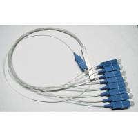 Buy cheap 1×8 PLC Fiber Optic Splitter, ABS Package, 0.9mm Cable for FTTX networks / PON Networks from wholesalers