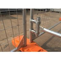 Best Hot Dipped Galvanized 300gram/sqm 42 microns zinc layer thickness Temporary Fence Panels 2.1mx2.4m wholesale