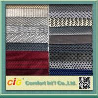 details of wholesale micro suede polyester auto upholstery fabric car upholstery fabrics for