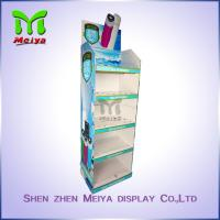 Cheap Bathroom Products Custom Cardboard Standee Advertising , Recycling Foldable for sale