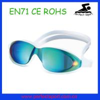 Best New Fashion Protect Watertight Anti-fog Swimming Goggles for Adult wholesale
