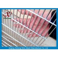 Best Anti Climbing 358 Metal Security Fence Panels Mesh Security Fencing RAL6005 wholesale