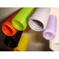 China Colored Flexible Corrugated Electrical Conduit Pipes  -40℃ - + 110℃ on sale